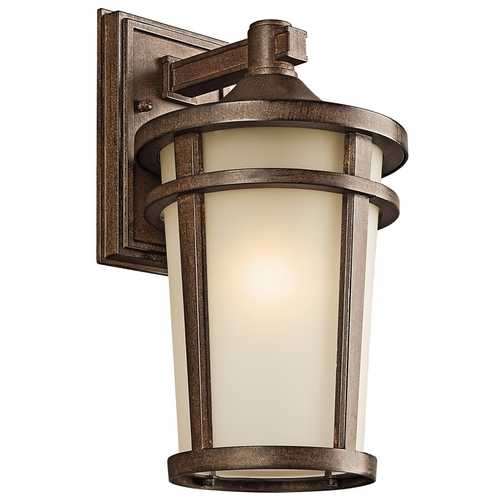 Kichler Lighting Kichler Outdoor Wall Light in Brown Stone Finish 49072BST