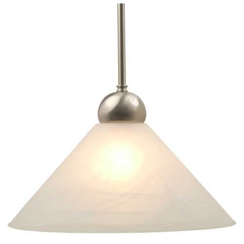 Design Classics Lighting Pendant with Alabaster Glass 3983-09