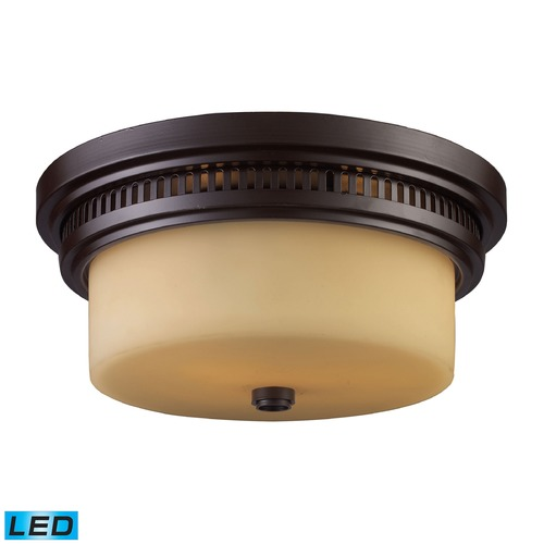 Elk Lighting Elk Lighting Chadwick Oiled Bronze LED Flushmount Light 66131-2-LED