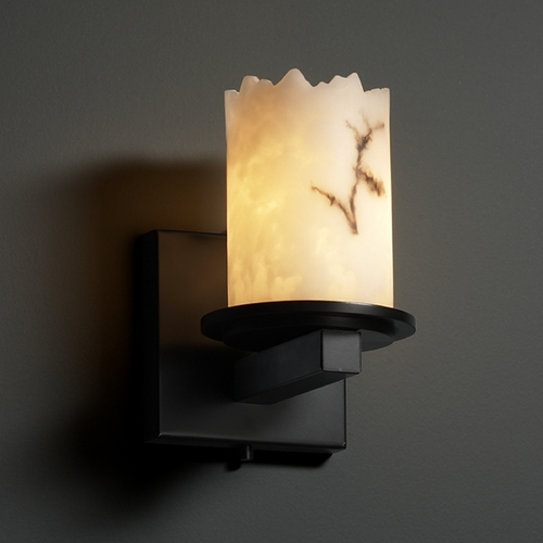 Justice Design Group Justice Design Group Lumenaria Collection Sconce FAL-8771-12-MBLK