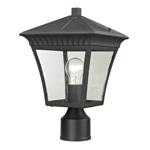 Cornerstone Lighting Cornerstone Lighting Ridgewood Matte Textured Black Post Light 8411EP/65