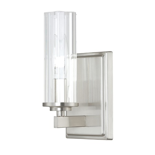 Capital Lighting Capital Lighting Emery Brushed Nickel Sconce 8041BN-150