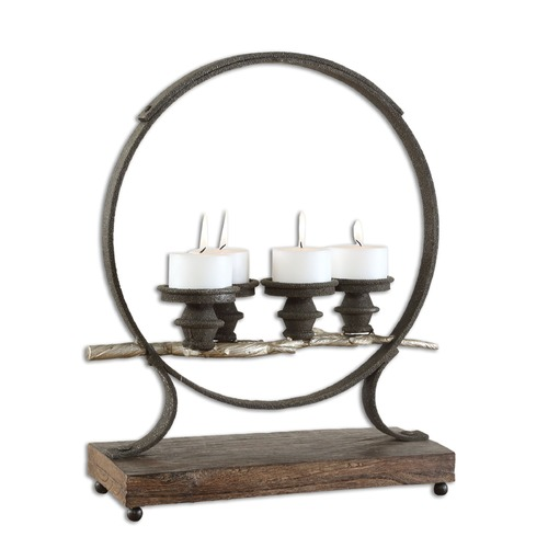 Uttermost Lighting Uttermost Mathis Iron Candleholder 17089