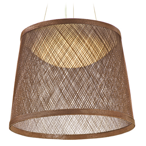 Maxim Lighting Maxim Lighting Bahama Natural LED Pendant Light with Bowl / Dome Shade 54378NA
