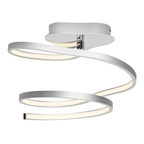 Elan Lighting Elan Lighting Tintori Chrome + Oxidised Silver LED Semi-Flushmount Light 83574