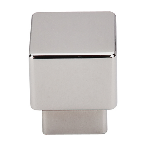 Top Knobs Hardware Modern Cabinet Knob in Polished Nickel Finish TK32PN