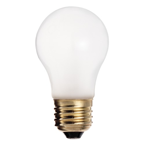 Satco Lighting Incandescent A15 Light Bulb Medium Base 2700K Dimmable S3815