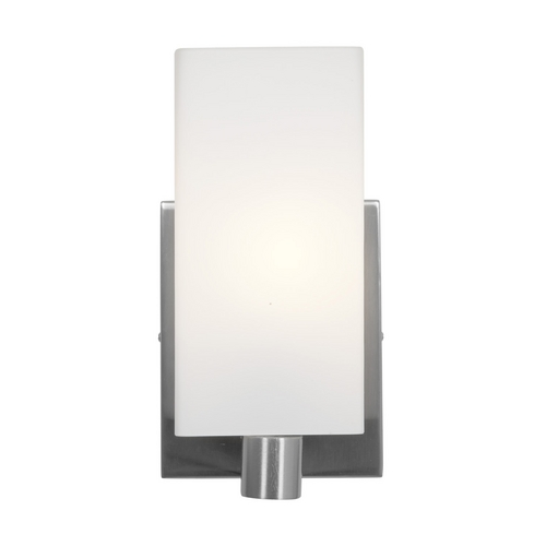 Access Lighting Access Lighting Archi Brushed Steel Sconce C50175BSOPLEN1113B