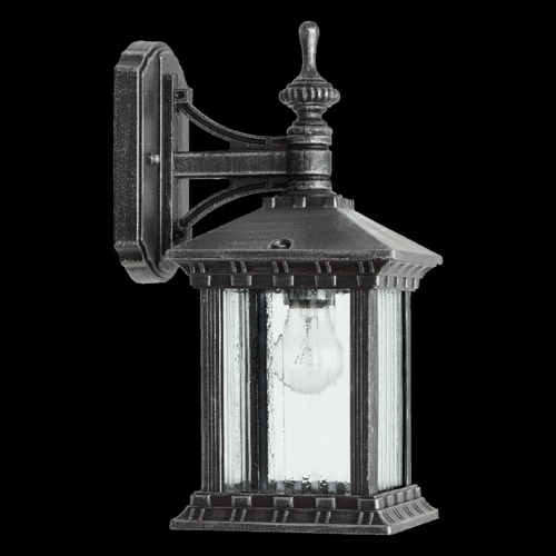 Quorum Lighting Quorum Lighting Huxley Rustic Silver Outdoor Wall Light 7461-72