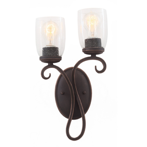 Kalco Lighting Kalco Lighting Castaic Antique Copper Sconce 7201AC