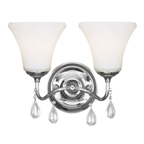Sea Gull Lighting Sea Gull Lighting West Town Chrome Bathroom Light 4410502-05