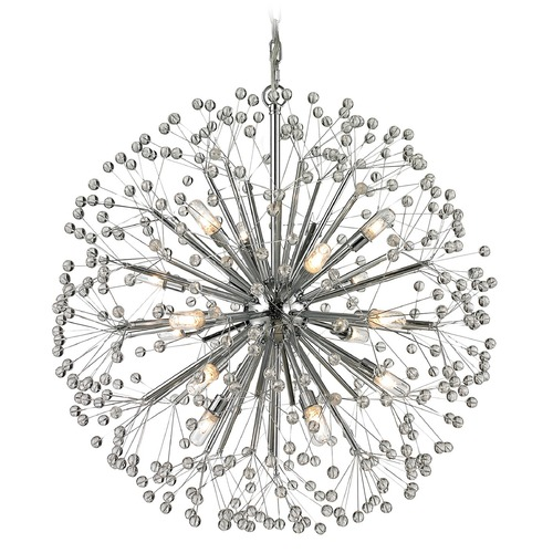 Elk Lighting Elk Lighting Starburst Polished Chrome Chandelier 11546/16