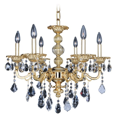 Allegri Lighting Vivaldi 6 Light Crystal Chandelier 025351-016-FR001