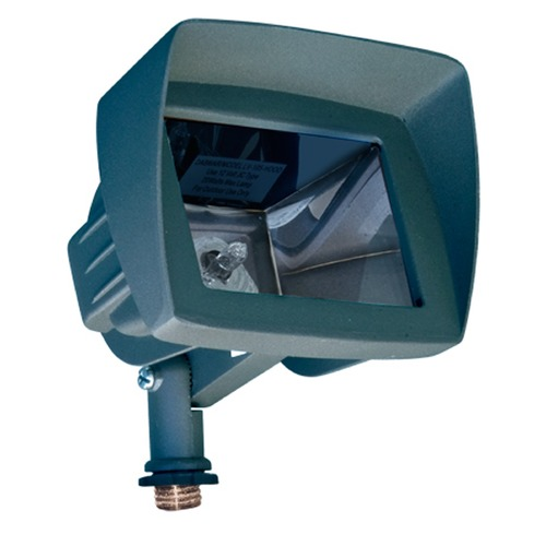 Dabmar Lighting Green Cast Aluminum Directional Area Flood Light with Hood LV105-HOOD-G