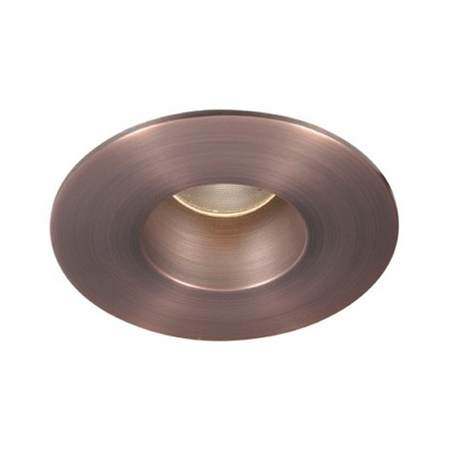 WAC Lighting WAC Lighting Round Copper Bronze 2-Inch LED Recessed Trim 3000K 760LM 40 Degree HR2LEDT109PF830CB