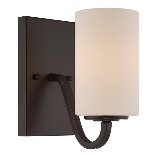 Nuvo Lighting Nuvo Lighting Willow Aged Bronze Sconce 60/5901