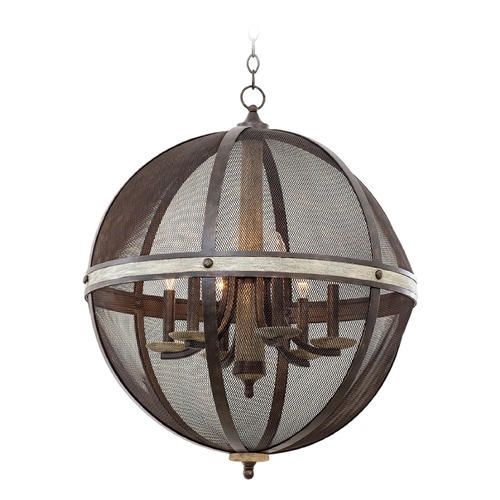Kalco Lighting Kalco Coronado Florence Gold Pendant Light 7041FG