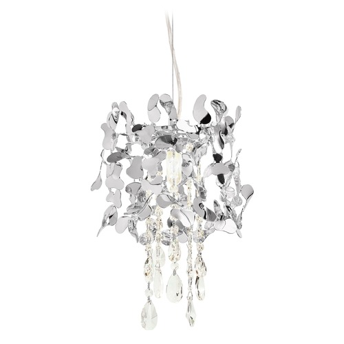 Elan Lighting Elan Lighting Alexa Chrome Pendant Light 83569