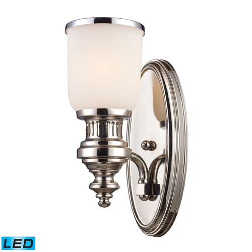 Elk Lighting Elk Lighting Chadwick Polished Nickel LED Sconce 66110-1-LED