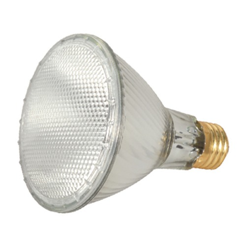 Satco Lighting Halogen PAR30 Light Bulb Medium Base Narrow Spot 9 Degree Beam Spread 2900K 120V Dimmable S2239