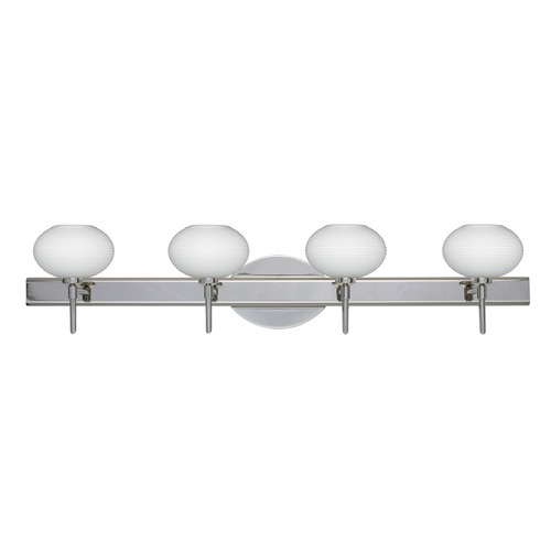 Besa Lighting Besa Lighting Lasso Chrome Bathroom Light 4SW-561207-CR