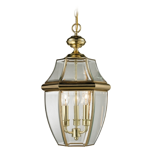 Cornerstone Lighting Cornerstone Lighting Ashford Antique Brass Outdoor Hanging Light 8603EH/85