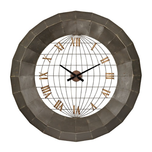 Sterling Lighting Oversized Metal Wall Clock 138-151
