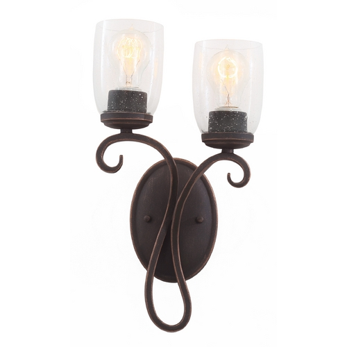Kalco Lighting Kalco Lighting Castaic Antique Copper Sconce 7202AC