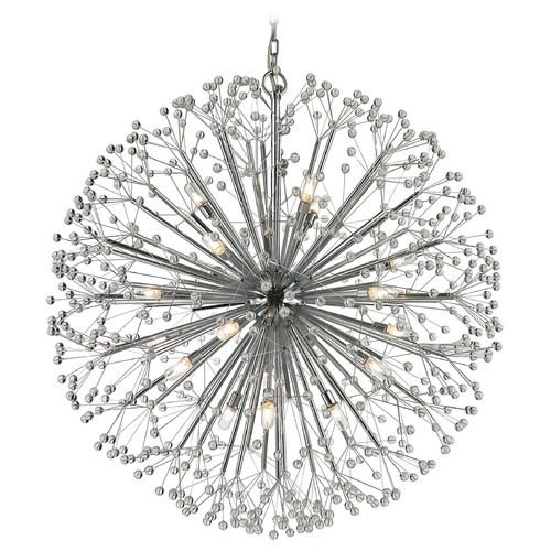 Elk Lighting Elk Lighting Starburst Polished Chrome Chandelier 11547/19