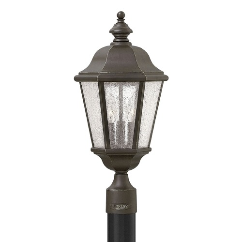 Hinkley Lighting Hinkley Lighting Edgewater Oil Rubbed Bronze Post Light 1671OZ