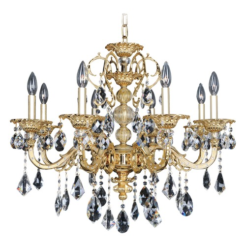 Allegri Lighting Vivaldi 8 Light Crystal Chandelier 025352-016-FR001