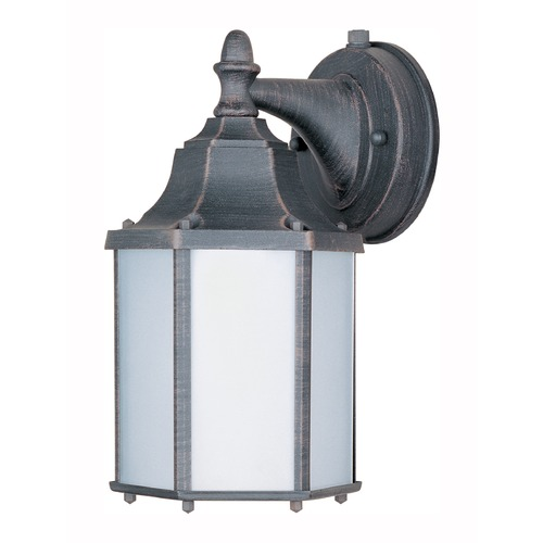 Maxim Lighting Maxim Lighting Side Door LED Rust Patina LED Outdoor Wall Light 56926RP