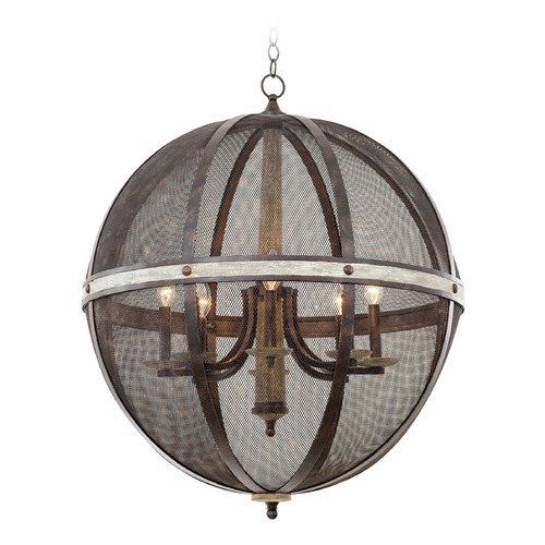 Kalco Lighting Kalco Coronado Florence Gold Pendant Light 7043FG