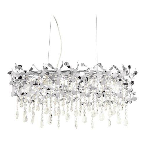 Elan Lighting Elan Lighting Alexa Chrome Island Light 83570