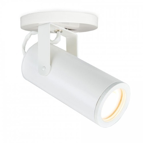 WAC Lighting WAC Lighting Silo White LED Monopoint Spot Light 3000K 920LM MO-2020-930-WT