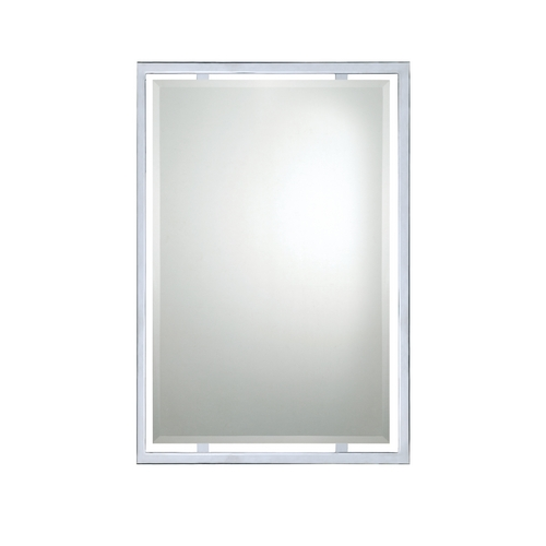 Quoizel Lighting Modern Rectangle 22-Inch Quoizel Mirror QR1221C