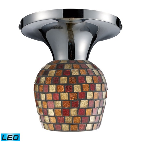 Elk Lighting Elk Lighting Celina Polished Chrome LED Semi-Flushmount Light 10152/1PC-MLT-LED