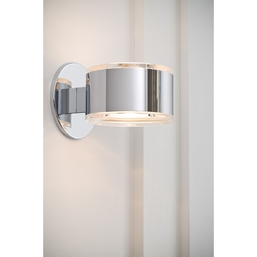 Holtkoetter Lighting Holtkoetter Modern Sconce Wall Light in Chrome Finish 8520 CH