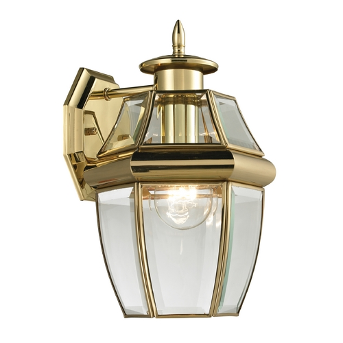 Cornerstone Lighting Cornerstone Lighting Ashford Antique Brass Outdoor Wall Light 8601EW/85
