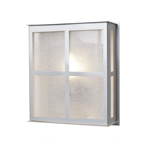 Besa Lighting Besa Lighting Bree Brushed Aluminum Outdoor Wall Light BREE11-GL-BA