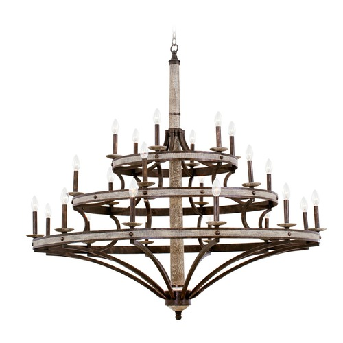 Kalco Lighting Kalco Coronado Florence Gold Chandelier 7044FG