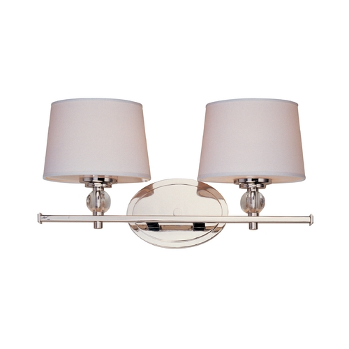 Maxim Lighting Maxim Lighting Rondo Polished Nickel Bathroom Light 12762WTPN