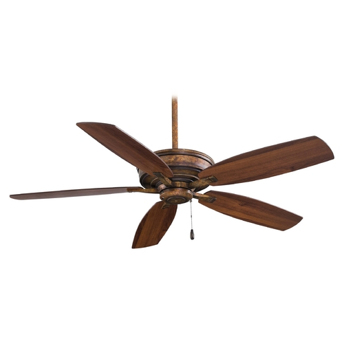 Minka Aire Ceiling Fan Without Light in Vineyard Patina Finish F695-VP