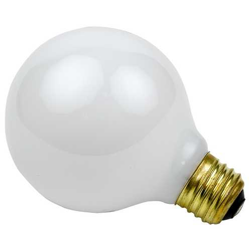 Sylvania Lighting 100-Watt G40 Globe Light Bulb 15793