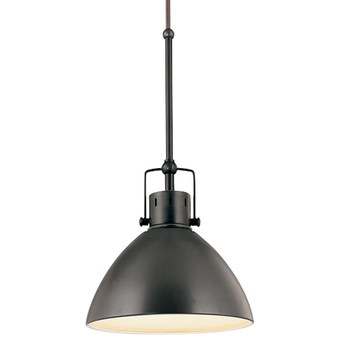 Design Classics Lighting Retro Cone Mini Pendant Light in Aged Bronze 2038-1-78