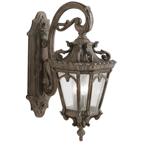 Kichler Lighting Kichler Outdoor Wall Light with Clear Glass in Londonderry Finish 9358LD