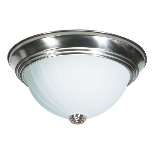 Nuvo Lighting Nuvo Lighting Brushed Nickel Flushmount Light SF76/244
