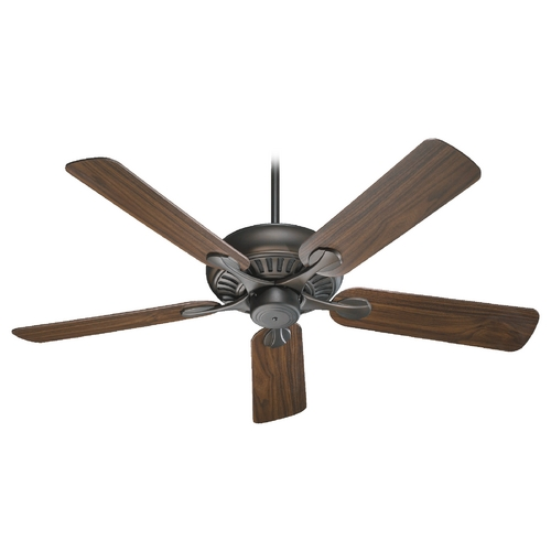 Quorum Lighting Quorum Lighting Pinnacle Oiled Bronze Ceiling Fan Without Light 91525-86