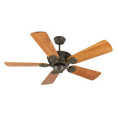 Craftmade Lighting Craftmade Lighting Chaparral Aged Bronze Textured Ceiling Fan Without Light K10078