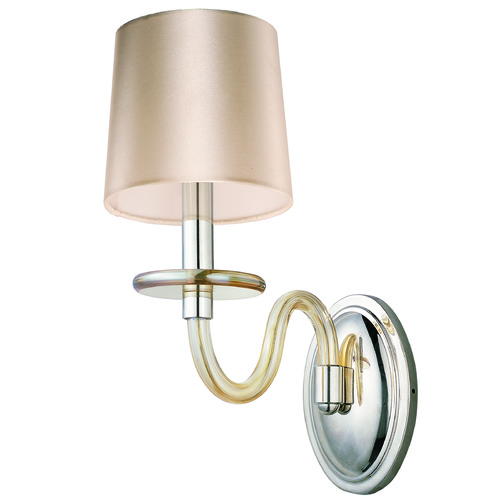 Maxim Lighting Maxim Lighting International Venezia Polished Nickel Sconce 27541CGPN
